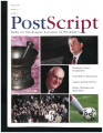 PostScript, News of the Albany College of Pharmacy, Winter 2000, Volume 11, Number 1