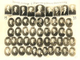 Albany College of Pharmacy graduating class 1935